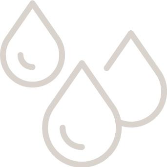 サラサラ汗で保湿・リンス効果